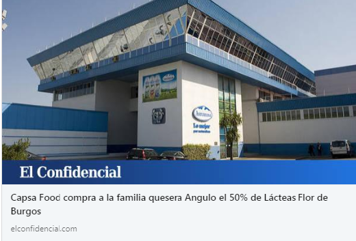 CAPSA FOOD NOTICIA CONFIDENCIAL